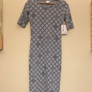 LuLaRoe Grey Dress XXS